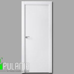 Puerta lacada abatible blanca Alcobendas
