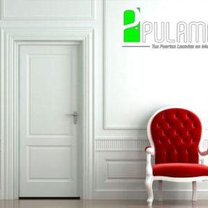 Puerta lacada abatible blanca Fuenlabrada 3