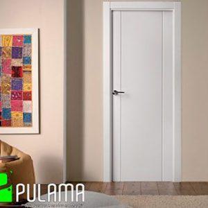 Puerta lacada abatible moderna blanca Las Rozas LVD2 8200
