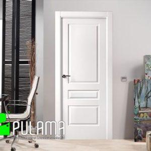 Puerta lacada abatible blanca Pozuelo P-13