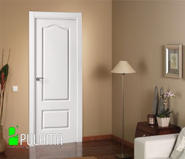 Puerta lacada valdemoro p 22 pulama - Puertas dm lacadas blanco ...
