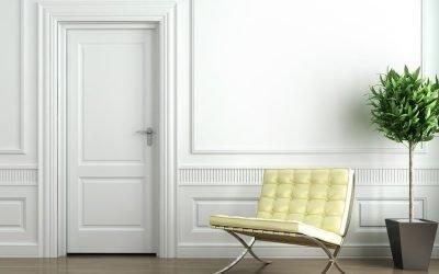 4 tipos de puertas blancas y cómo combinarlas con el diseño de tu hogar
